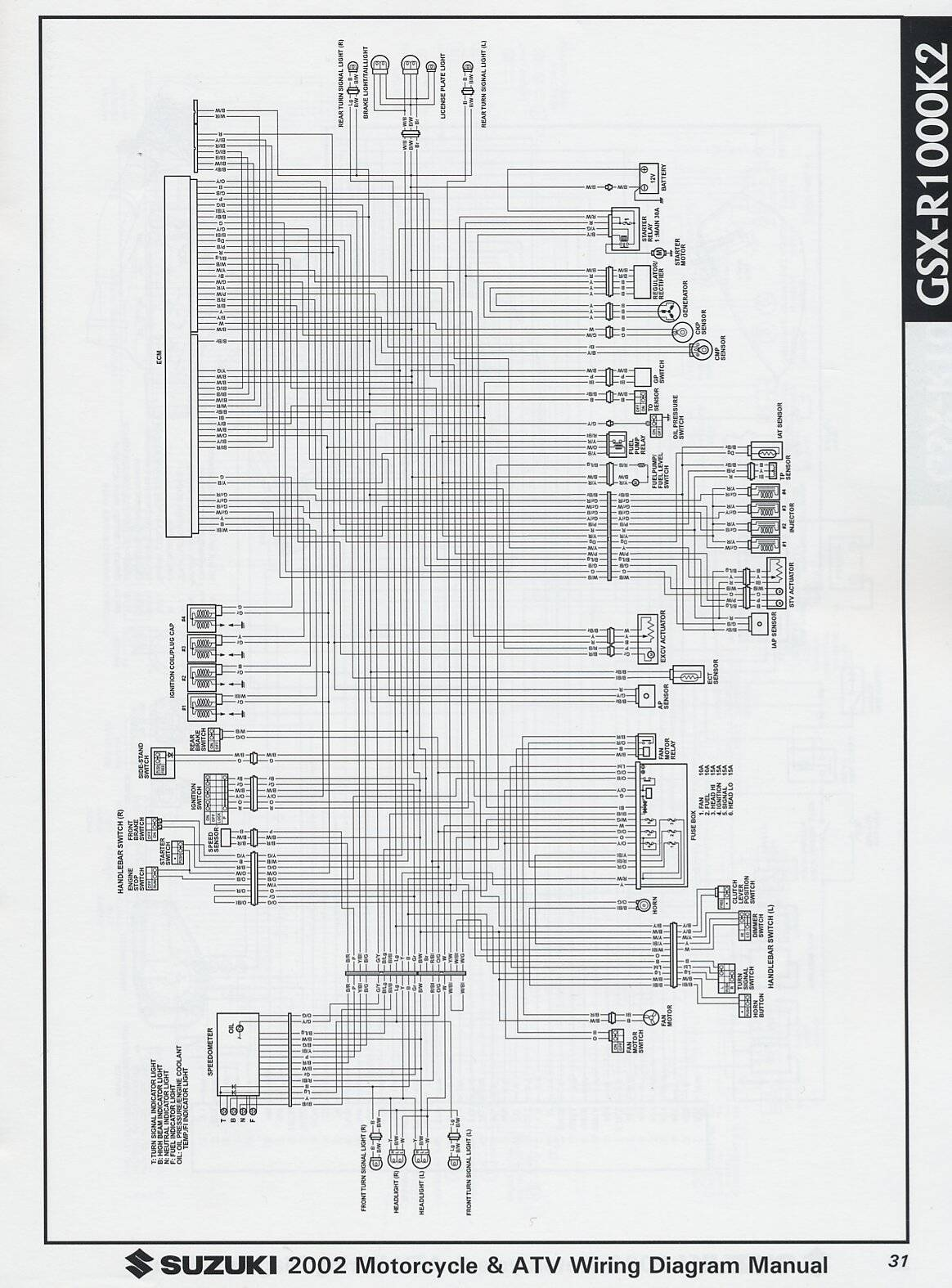 suzuki gsx r 600 wiring diagram schematics wiring data u2022 rh case hub co Custom 2008 Suzuki Gsxr 600 2006 suzuki gsxr 600 wiring diagram
